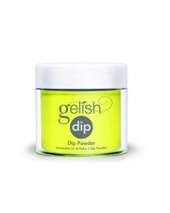 Gelish Xpress Dip Glow Like a Star, 0.8 oz. YELLOW CREME