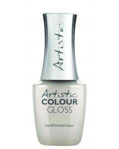 Artistic Colour Gloss Soak Off Gel Nail Colour Arrive in Style, 0.5 fl oz. PEARL WHITE