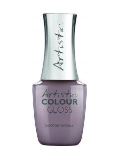 Artistic Colour Gloss Soak Off Gel Nail Colour Be There in 10!, 0.5 fl oz. MAUVE CREME