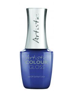Artistic Colour Gloss Soak Off Gel Nail Colour I Have Connections, 0.5 fl oz. STEEL BLUE CREME