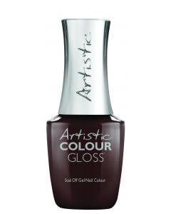 Artistic Colour Gloss Soak Off Gel Nail Colour All About The Route, 0.5 fl oz. BROWN CREME