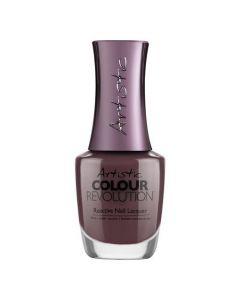 Artistic Colour Revolution Artistic Moves Reactive Hybrid Nail Lacquer, 0.5 fl oz. DUSTY PURPLE CREME
