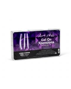 Gel On Xtensions Long Coffin 550CT
