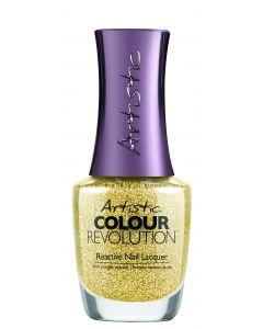 Artistic Colour Revolution Reactive Nail Lacquer Yank My Gold Chain