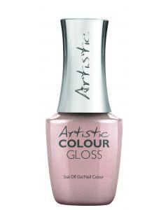 Artistic Colour Gloss Soak Off Gel Nail Colour Sequin You Later, 0.5 fl oz. BRONZE METALLIC