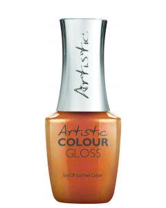 Artistic Colour Gloss Soak Off Gel Nail Colour Hands Off My Teddy, 0.5 fl oz. COPPER MULTI-SHIMMER