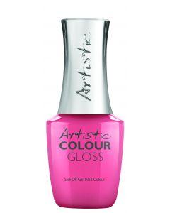 Artistic Colour Gloss Soak Off Gel Nail Colour Smart Cookie, 0.8 oz. CORAL PINK PEARL
