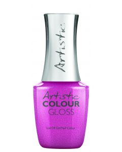 Artistic Colour Gloss Soak Off Gel Nail Colour Not Your Sugar Mama, 0.8 oz. MEDIUM PINK FROST