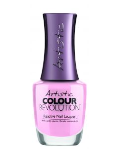 Artistic Colour Revolution Reactive Nail Lacquer The Pink In Her Cheeks, 0.5 fl oz. SOFT PINK CREME