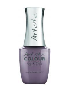 Artistic Colour Gloss Soak Off Gel Nail Colour Hold Me On A Petal-Stal, 0.5 fl oz. LIGHT PURPLE GREY