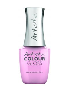 Artistic Colour Gloss Soak Off Gel Nail Colour The Pink In Her Cheeks, 0.5 fl oz. SOFT PINK CREME