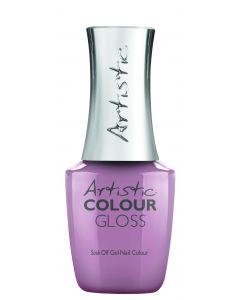 Artistic Colour Gloss Soak Off Gel Nail Colour Iris You Were Mine, 0.5 fl oz. LIGHT PURPLE CREME
