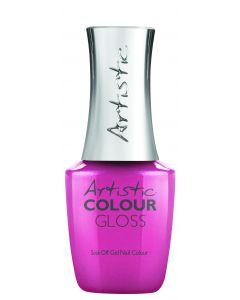 Artistic Colour Gloss Soak Off Gel Nail Colour You Grow Girl!, 0.5 fl oz. DEEP PINK PEARL