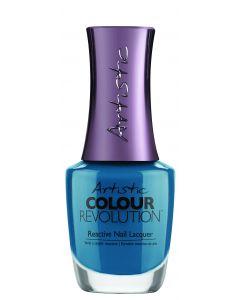 Artistic Colour Revolution Reactive Nail Lacquer Aqua Attitude