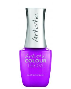Artistic Colour Gloss Soak Off Gel Nail Colour Don't Be Shady, 0.5 fl oz. FUCHSIA SHIMMER