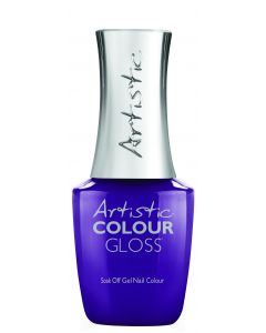 Artistic Colour Gloss Soak Off Gel Nail Colour Ultra-Violet Rays, 0.5 fl oz. NEON PURPLE