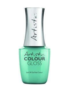 Artistic Colour Gloss Soak Off Gel Nail Colour Anything is Popsicle, 0.5 fl oz. TEAL CREME