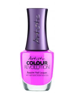 Artistic Colour Revolution Reactive Nail Lacquer Bubblegum is Poppin'