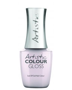 Artistic Colour Gloss Soak Off Gel Nail Colour Scoop, There It Is!, 0.5 fl oz. LIGHT GRAY CREME