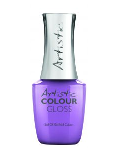 Artistic Colour Gloss Soak Off Gel Nail Colour Sorbae All Day, 0.5 fl oz. LIGHT PURPLE CREME