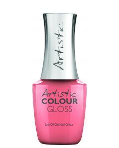 Artistic Colour Gloss Soak Off Gel Nail Colour Summer Stunner, 0.5 fl oz. CORAL CREME