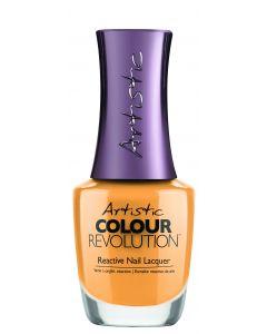 Artistic Colour Revolution Reactive Nail Lacquer Sunshine Tan Line