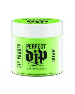 Artistic Perfect Dip Colored Powders Shaded not Jaded, 0.8 oz. GREEN NEON CREME