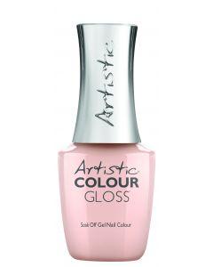 Artistic Colour Gloss Soak Off Gel Nail Colour  Gorgeous in Gossamer, 0.5 fl oz. SHEER NUDE CREME