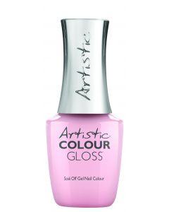 Artistic Colour Gloss Soak Off Gel Nail Colour  It's Going Gown, 0.5 fl oz. SHEER PINK CREME