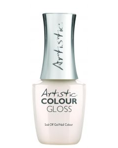 Artistic Colour Gloss Soak Off Gel Nail Colour  Love Laced, 0.5 fl oz. LIGHT SHEER NUDE