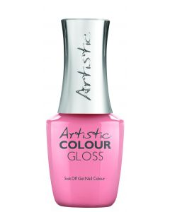 Artistic Colour Gloss Soak Off Gel Nail Colour  Tulle Death Do us Part, 0.5 fl oz. SOFT PEACH CREME