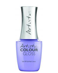 Artistic Colour Gloss Soak Off Gel Nail Colour Treasure Beyond Measure, 0.5 fl oz. PERIWINKLE CREME
