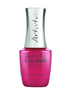 Artistic Colour Gloss Soak Off Gel Nail Colour Love to be Lavish, 0.5 fl oz. ROSE CREME
