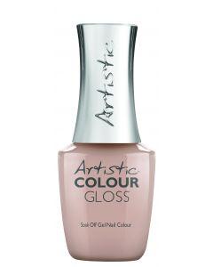 Artistic Colour Gloss Soak Off Gel Nail Colour The Original, 0.5 fl oz. SOFT NUDE CREME