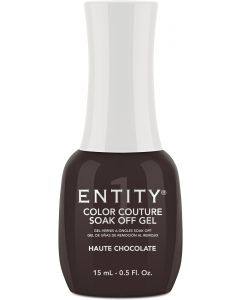 Entity Color Couture Soak-Off Gel Enamel Haute Chocolate
