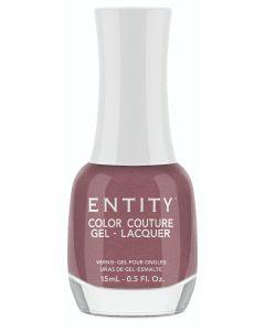 Entity Color Couture Gel Nail Lacquer Boots & Beautes, 0.5 fl oz. ROSE MAUVE PEARL