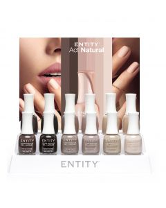 Entity Beauty Act Natural 12PC Collection Display