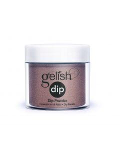 Gelish Xpress Dip That's So Monroe, 0.8 oz. COOL BROWN SHIMMER
