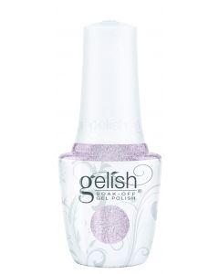 Gelish Soak-Off Gel Polish Don't Snow-Flake On Me, 0.5 fl oz. LIGHT PURPLE METALLIC WITH CHUNKY GLITTER