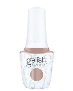 Gelish Soak-Off Gel Polish Bare & Toasty, 0.5 fl oz. TAN CREME