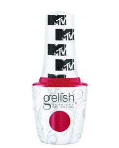 Gelish Soak-Off Gel Polish Total Request Red, 0.5 fl oz. RED SHIMMER