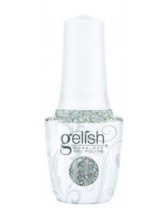 Gelish Soak-Off Gel Polish Sprinkle Of Twinkle, 0.5 fl oz. SILVER GLITTER