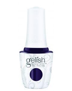 Gelish Soak-Off Gel Polish A Kiss In The Dark, 0.5 fl oz. BLACK PURPLE CREME