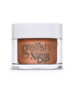 Gelish Catch Me If You Can Dip Powder, 0.8 oz. PUMPKIN CREME