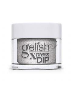 Gelish Xpress Dip Don't Snow-Flake On Me, 1.5 oz. LIGHT PURPLE METALLIC WITH CHUNKY GLITTER