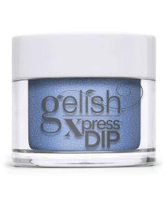 Gelish Keepin' It Cool Dip Powder, 0.8 oz. AZURE BLUE SHIMMER