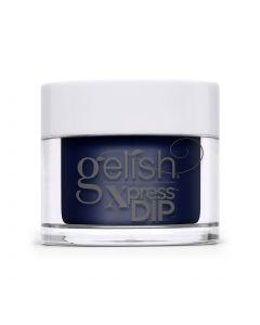 Gelish Laying Low Dip Powder, 0.8 oz. RICH NAVY BLUE CREME