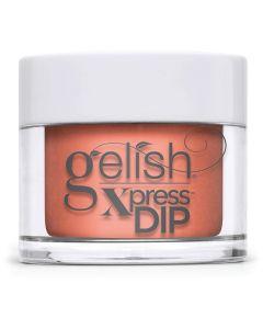 Gelish Orange Crush Blush Dip Powder, 0.8 oz. ORANGE-Y CORAL CREME