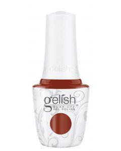 Gelish Soak-Off Gel Polish Afternoon Escape, 0.5 fl oz. BURNT ORANGE CREME