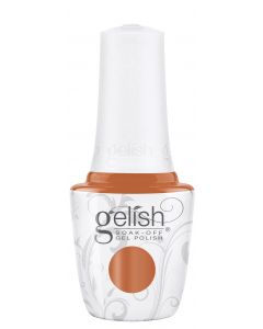 Gelish Soak-Off Gel Polish Catch Me If You Can, 0.5 fl oz. PUMPKIN CREME